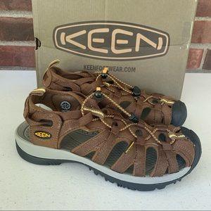 KEEN Whisper Women's Size US 7 Brown sandals